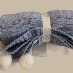 Luxury Baby Blanket-Blue