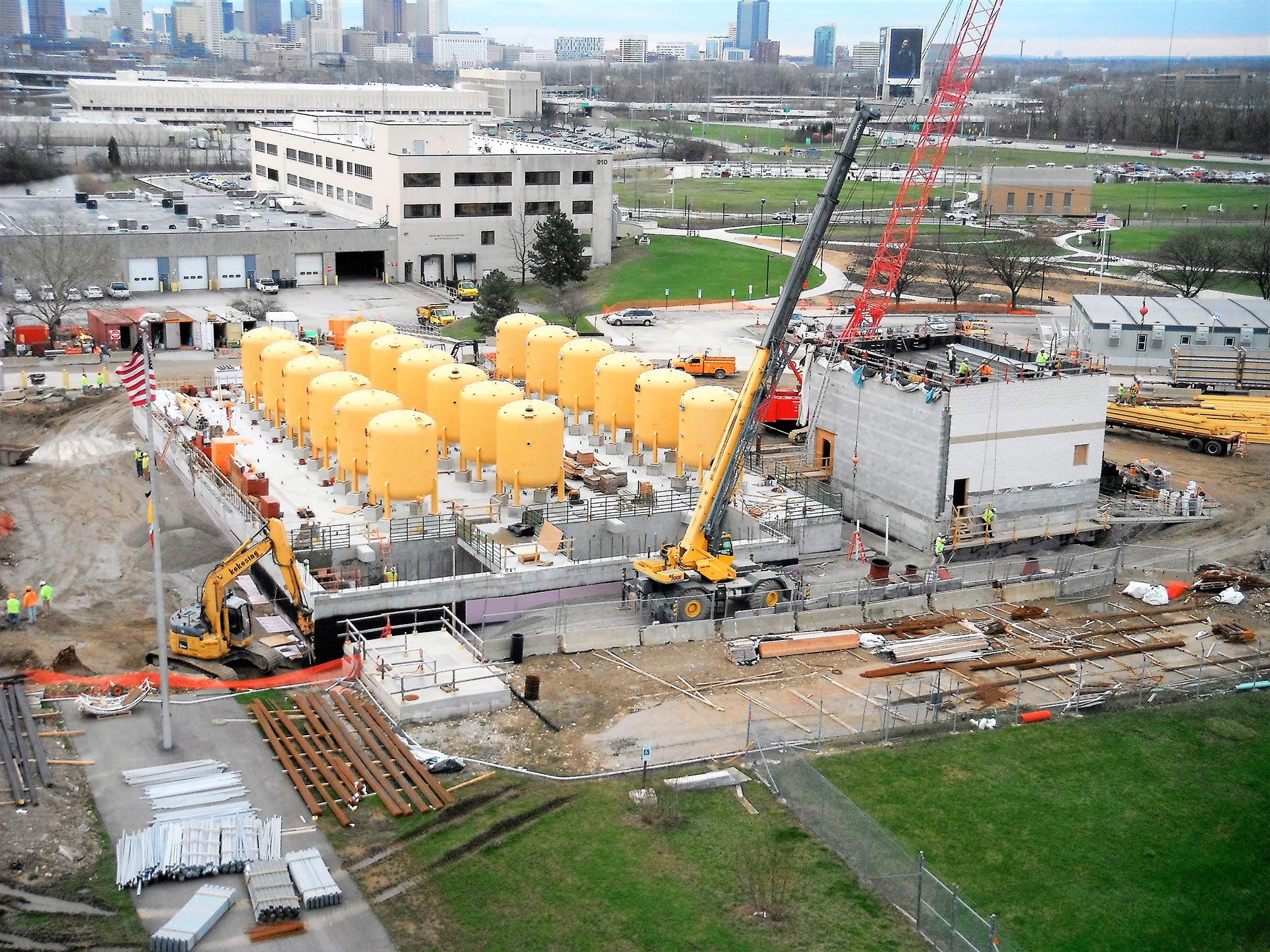 DUBLIN ROAD WATER TREATMENT PLANT FACILITY IMPROVEMENTS – CONSTRUCTION MANAGEMENT (MULTIPLE PHASES)