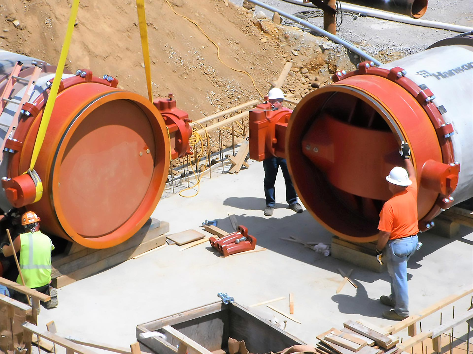 UPGROUND RESERVOIR PUMP STATION IMPROVEMENTS AND INFLATABLE DAM