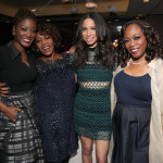 The Oscars Sistahs Soiree, hosted by Alfre Woodard, is an annual dinner for African American women and women of color in film.  The event provides a supportive atmosphere for invitees to be able to enjoy their time together and catch up in the week leading up to the Oscars.