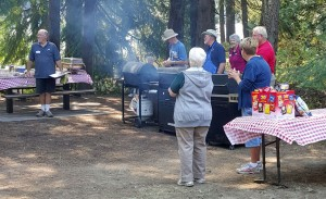 2015-08-15 Barbeque chefs & helpers at annual picnic