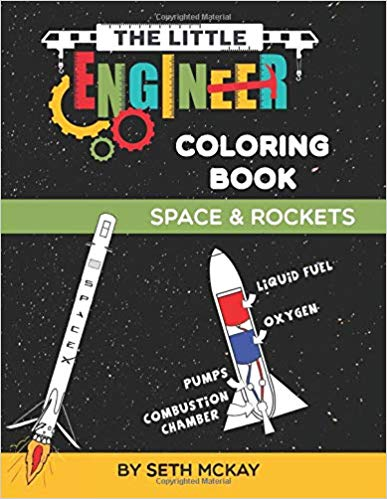 The Little Engineer Coloring Book