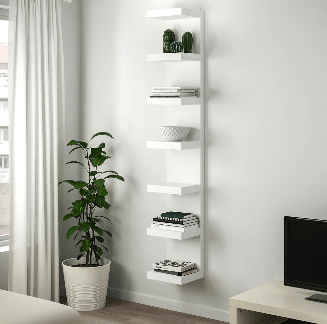 Ikea's LACK Wall Shelf Unit