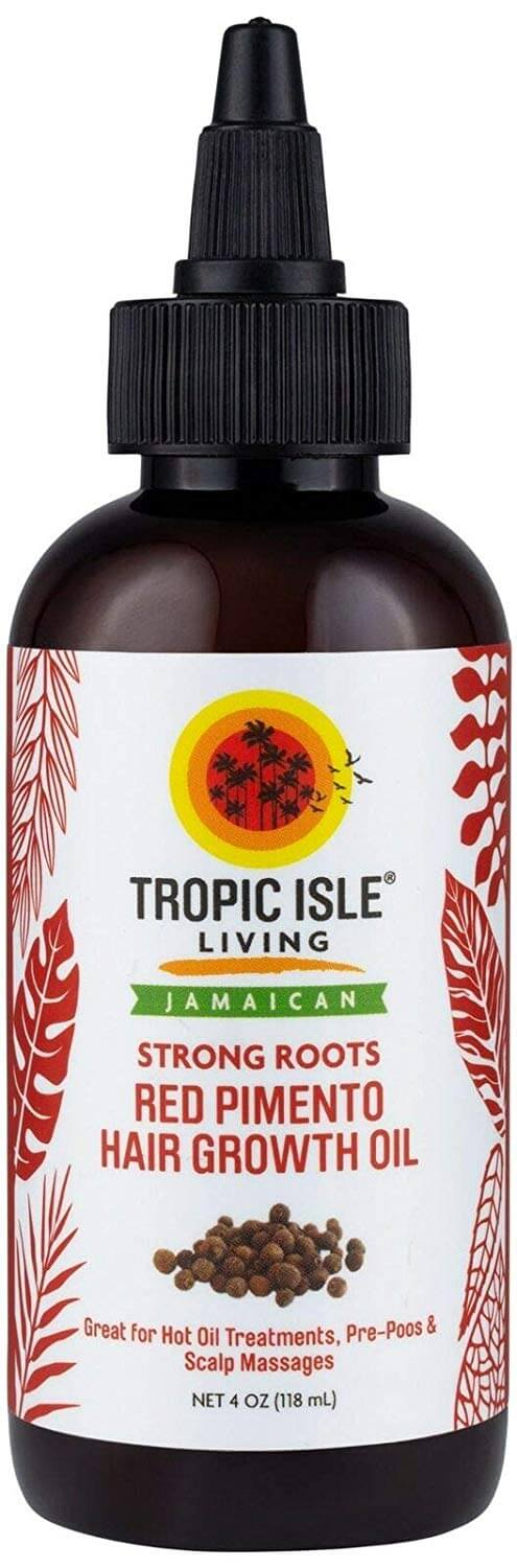 Tropic Isle Living Strong Roots Red Pimento Hair Growth Oil