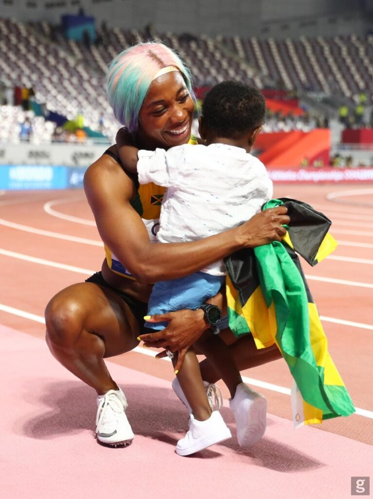 Courtesy of Shelly-Ann Fraser-Pryce