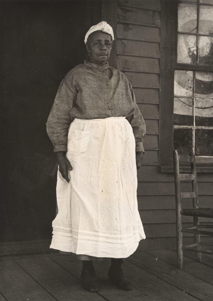 Aunt Dora Green, traditional midwife, Eufaula, Alabama, the late 1930s. WPA Writers' Project. Courtesy of Alabama Department of Archives and History, Montgomery.