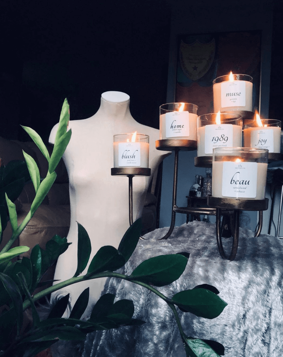 LIT Brooklyn's Joy, Home and Muse candles