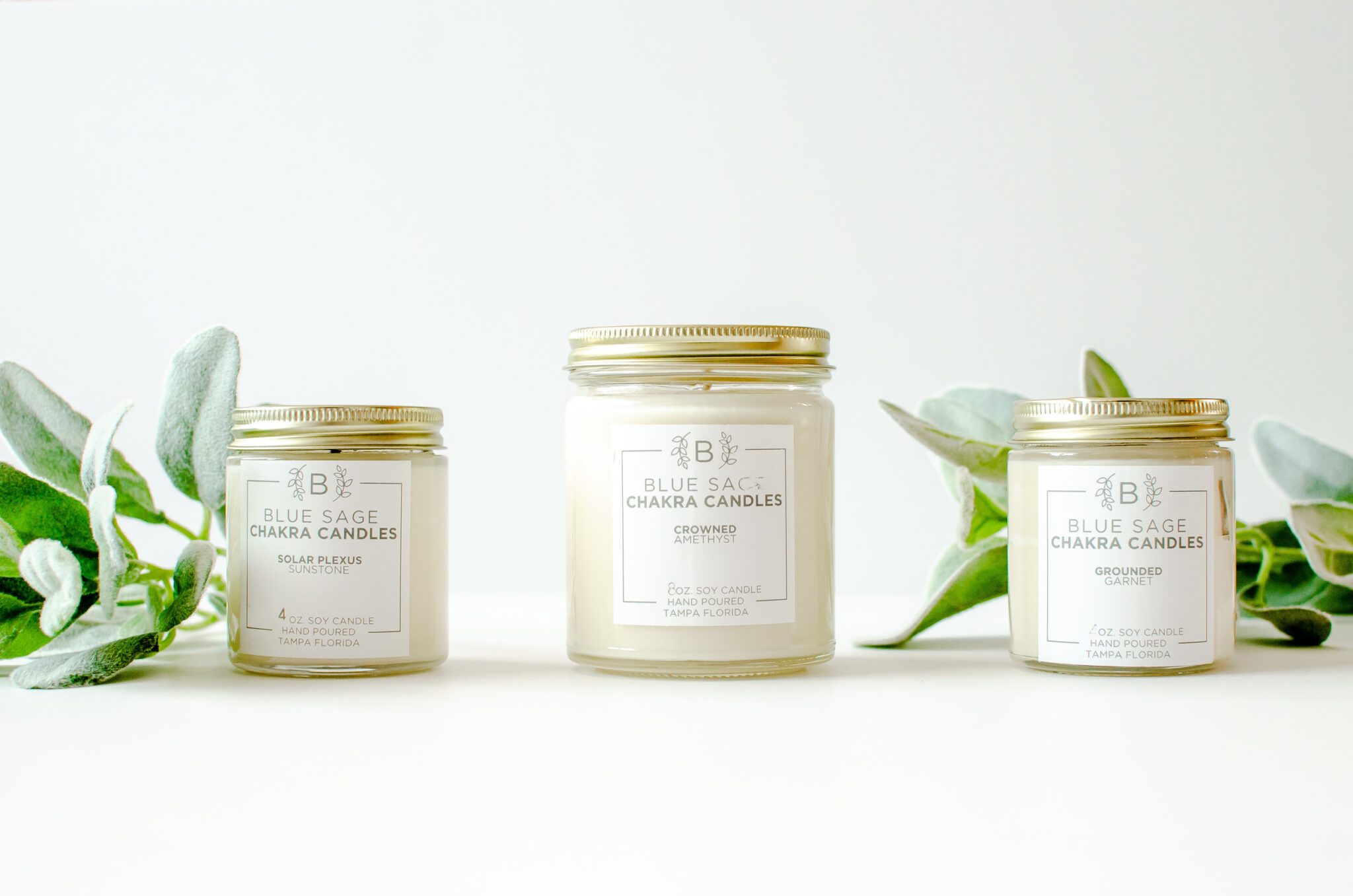 Crowned - 7th Chakra Soy Candle