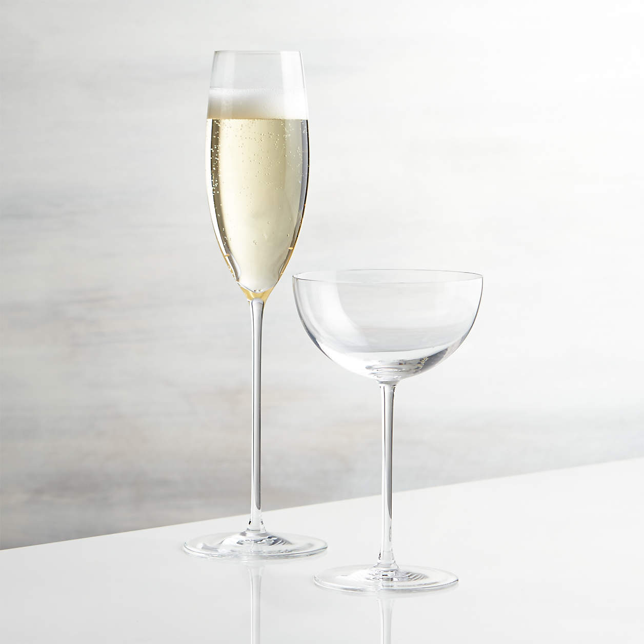 Camille Long Stem Champagne Glass
