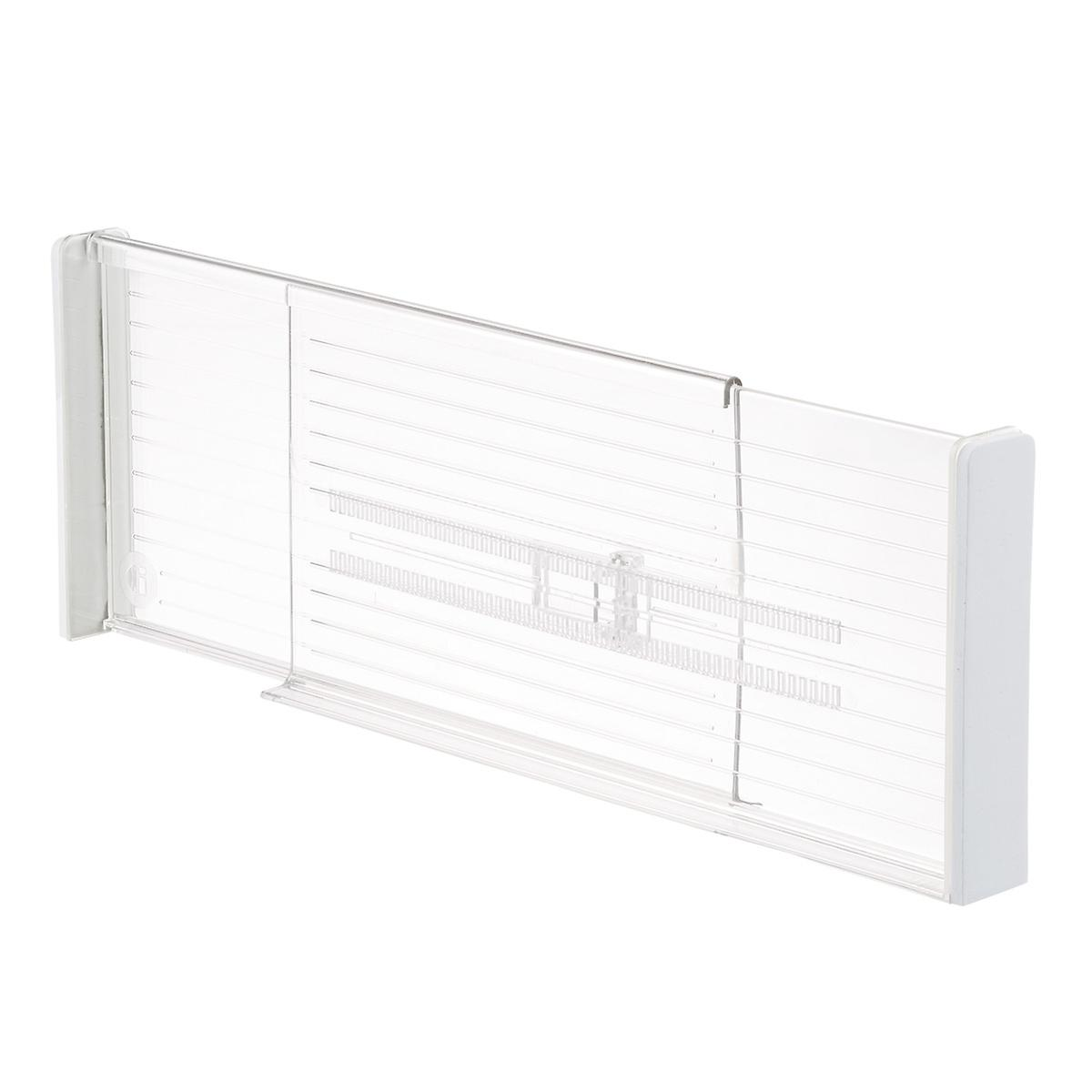 Clear Expandable Deep Drawer Dividers (Set of 2)