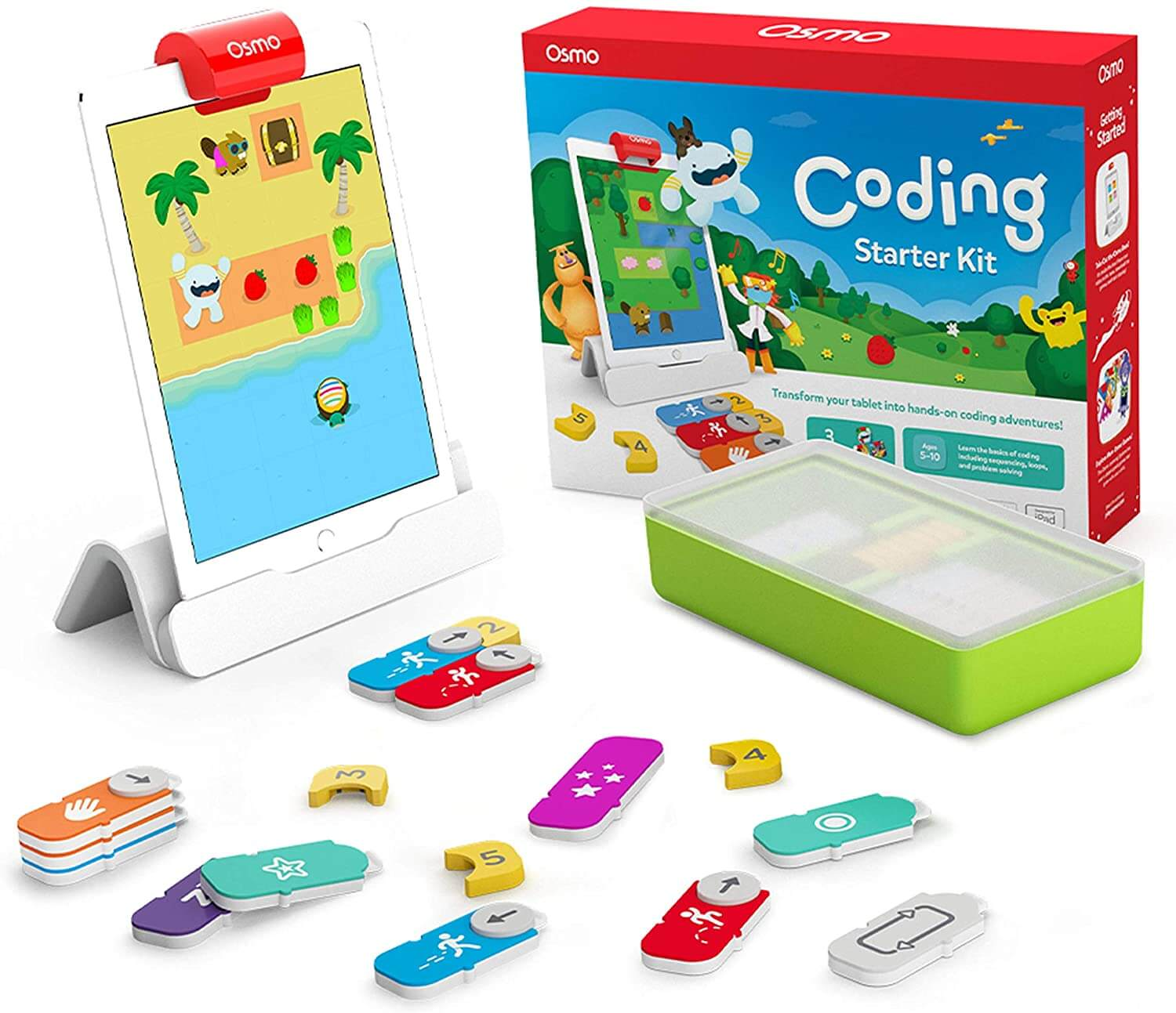 Osmo – iPad Coding Starter Kit, Learning to Code, Coding Basics & Coding Puzzles