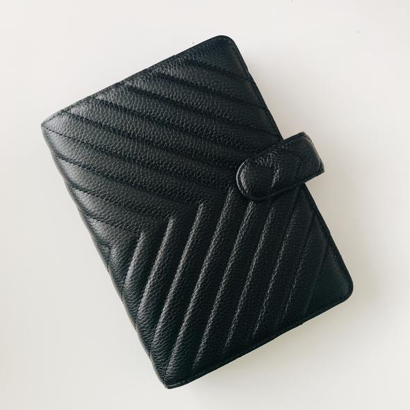 Cloth & Paper Quilted 6-Ring Agenda er
