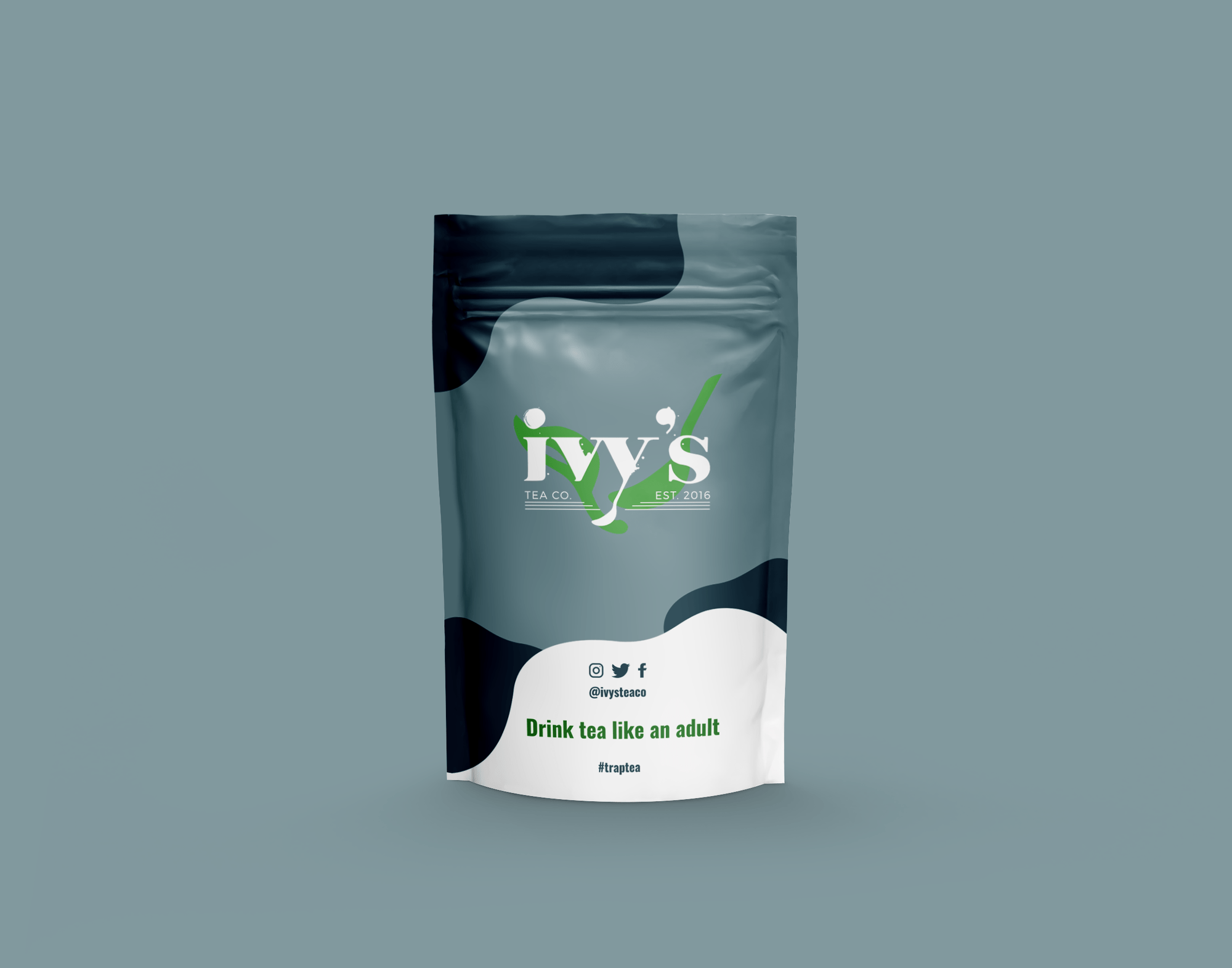 Herbal tea with Hip-Hop culture by Ivy's Tea