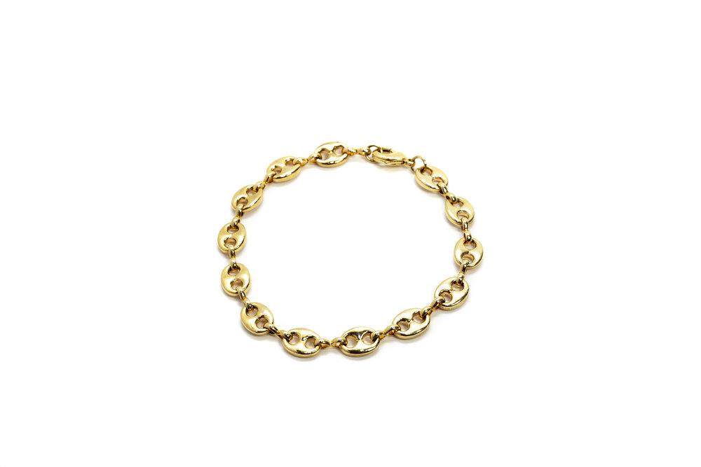 18K Gold Filled Calypso Anklet By Lola Ade