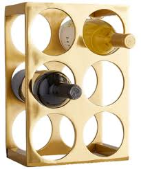Metal Wine Rack From West Elm