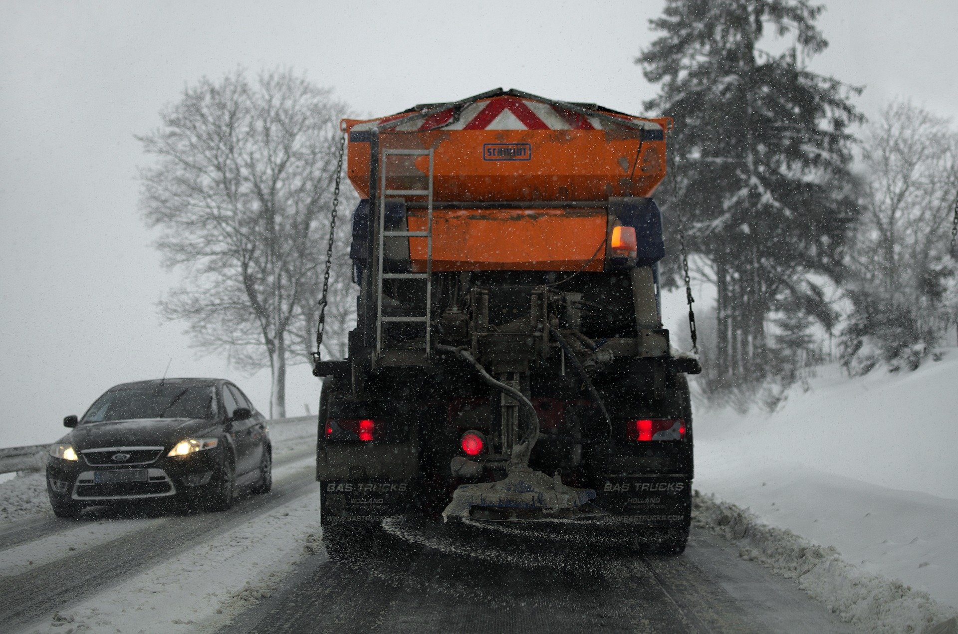 Lancaster deicing truck