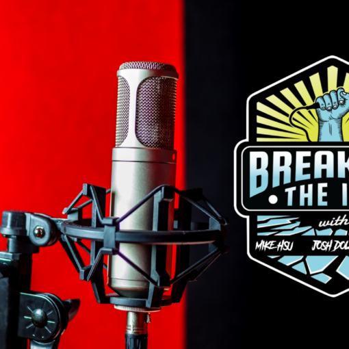 Breaking the Ice Podcast Header