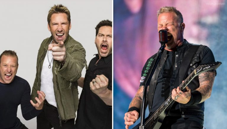 Metallica and Nickelback