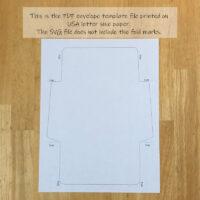 Envelope template download