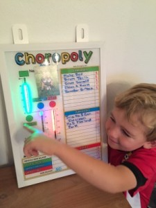 This happy customer used some saved points to make a purchase. Piggy bank is a great way to teach about saving.... Choropoly ties it all together - earning, spending, saving.