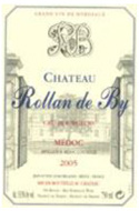 2005 Chateau Rollan de By