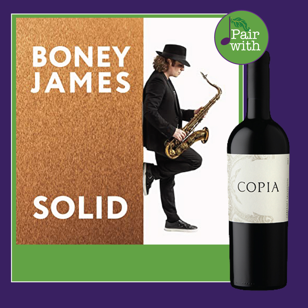 Wine and Music Pairing: Boney James