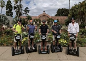 Tour Group on an Adventures in San Diego Segway Tour in Balboa Park