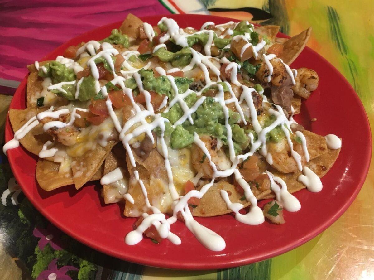 Our delicious Nachos Grande