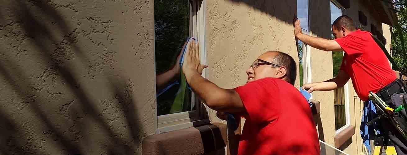 ClearPro Window Cleaning Technicians in Scottsdale AZ