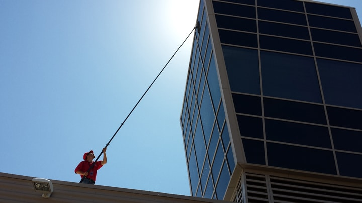 COMMERCIAL WINDOW CLEANING in Scottsdale