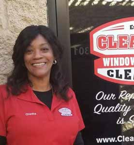 Charitta at ClearPro Window and Carpet Cleaning in Scottsdale