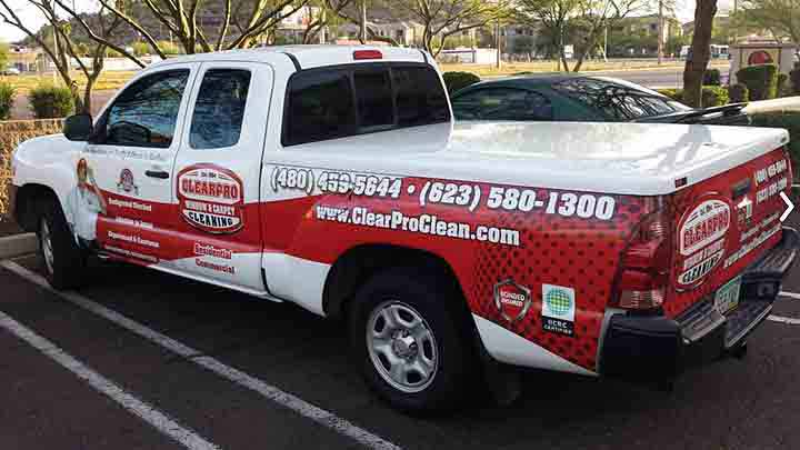 ClearPro Tile and Grout Cleaning Truck