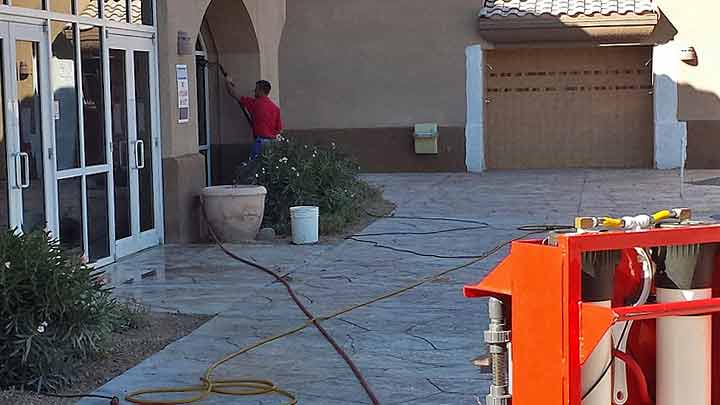 Commercial Window Cleaning Process Scottsdale