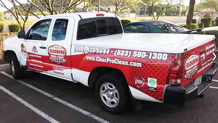 Scottsdale ClearPro Window Cleaning Vehicle