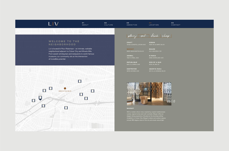 Website – Location