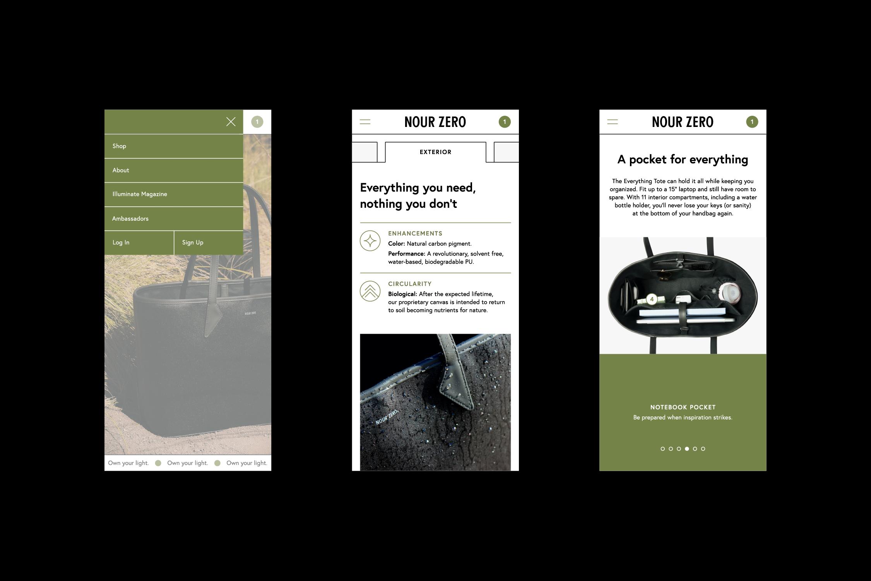 Website – Mobile