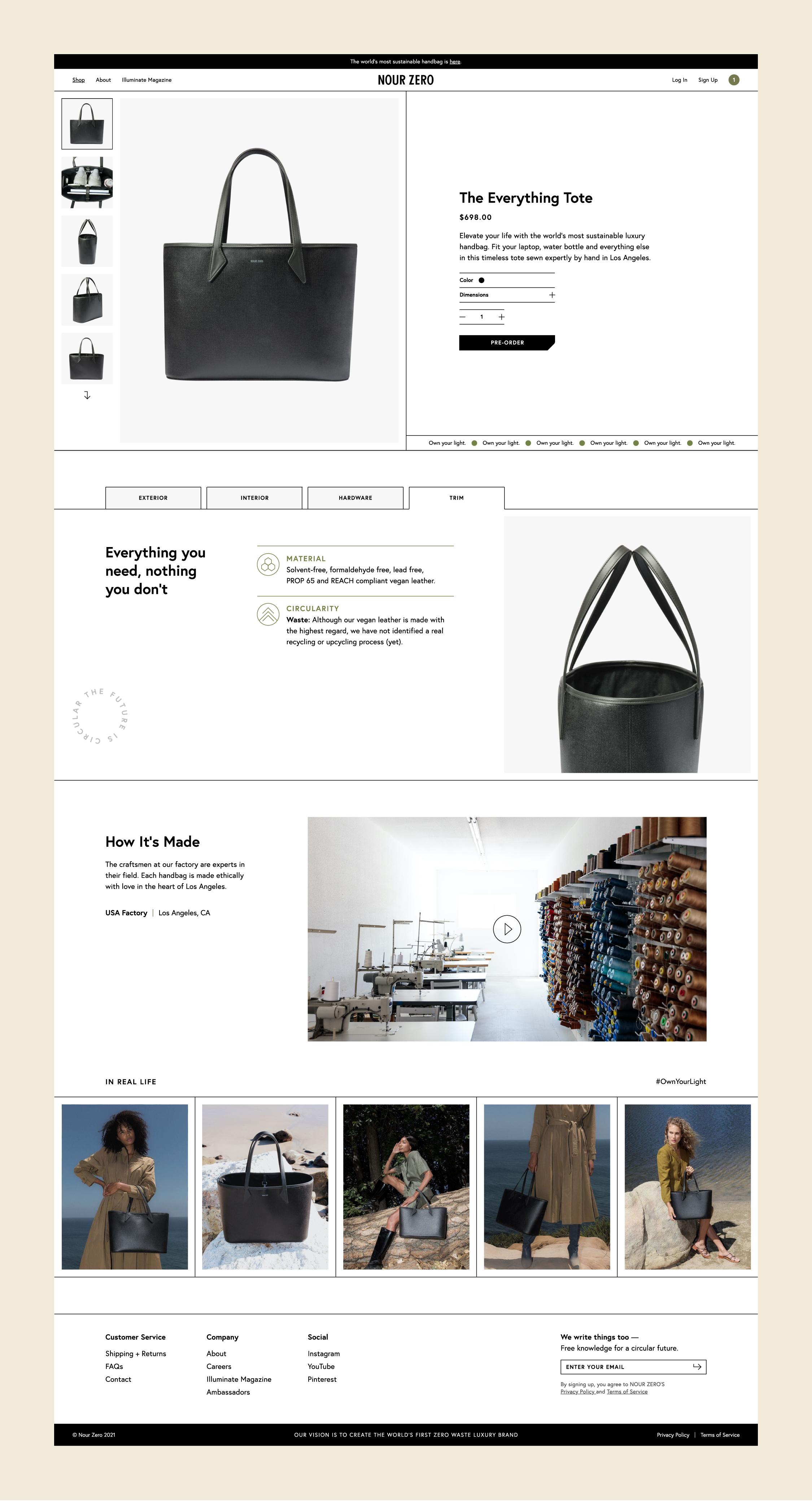 Website – Shop