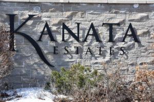 Kanata Estates Sign