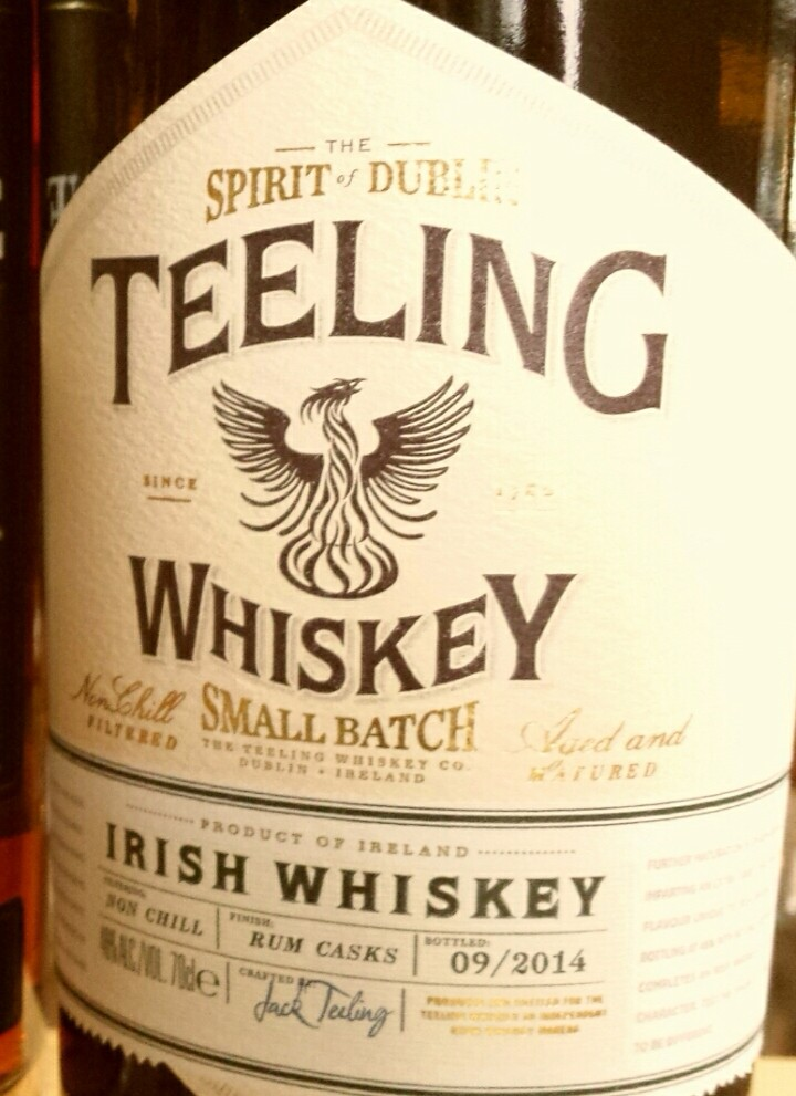 The Whiskey Noob review teeling small batch irish whiskey