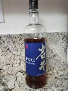 The Whiskey Noob review iwai mars japanese whisky