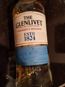 The Whiskey Noob review glenlivet founders reserve