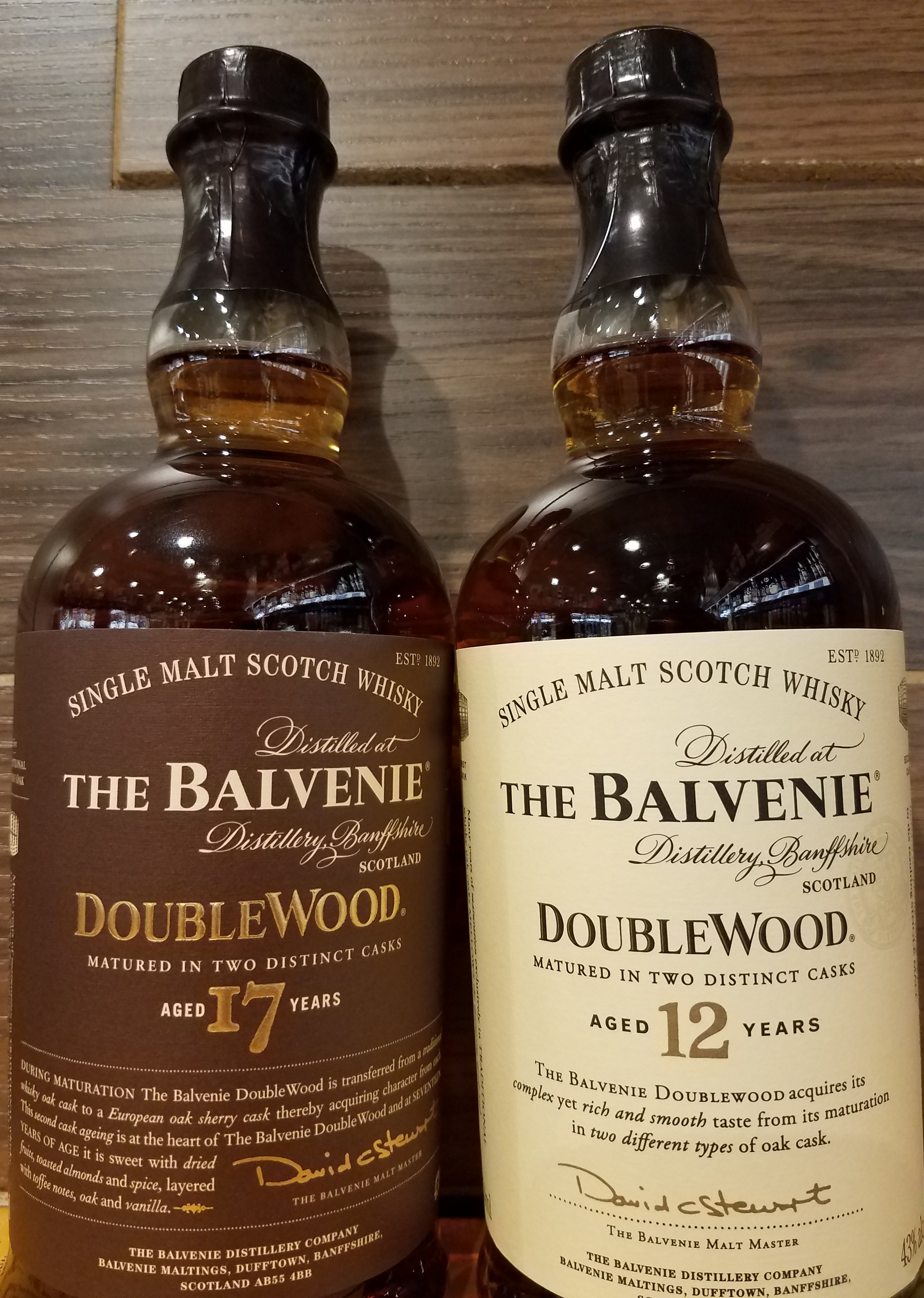 The Whiskey Noob review balvenie doublewood