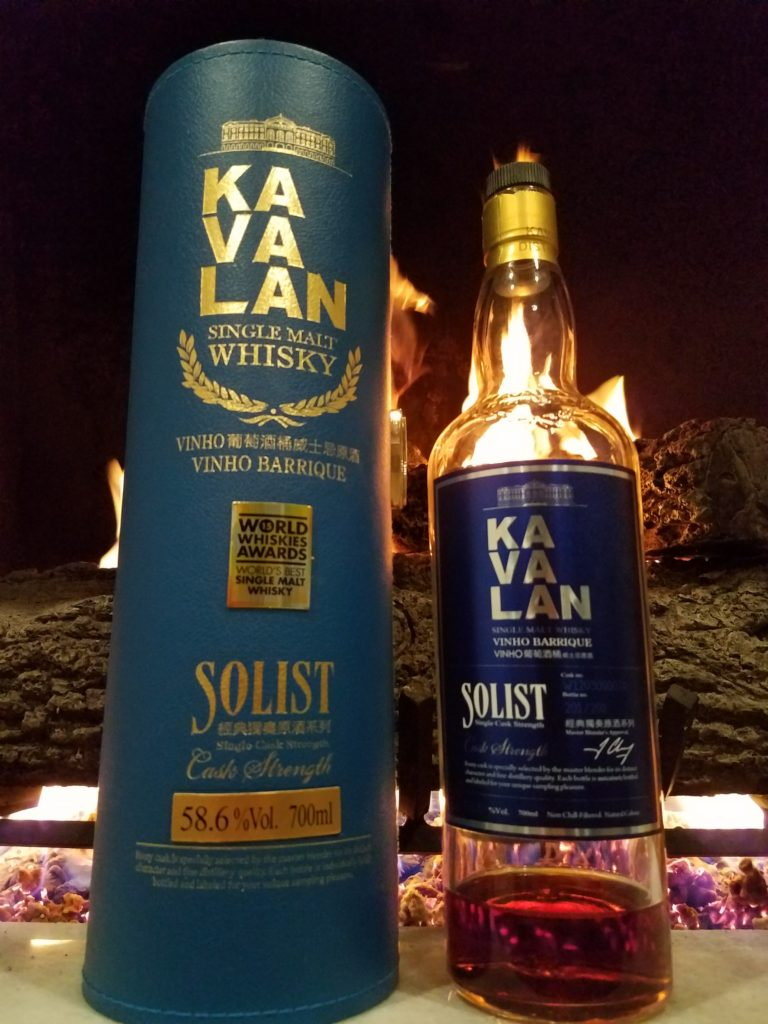 The Whiskey Noob review kavalan solist cask strength