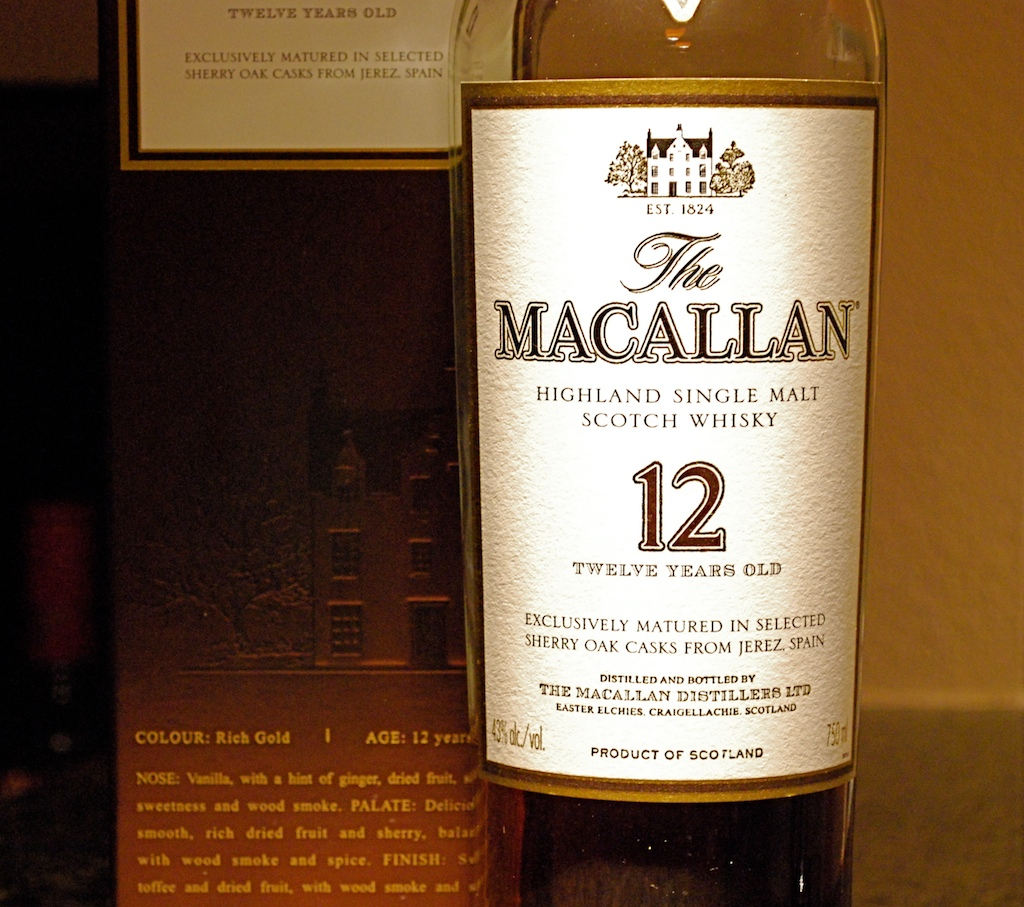 Macallan 12 yr: JAWS Rating 8/10