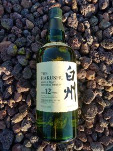 The Whiskey Noob review Hakushu Single Malt Japanese Whisky 12 year