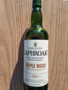 The Whiskey Noob review Laphroaig Triple Wood Islay Single Malt Scotch Whisky