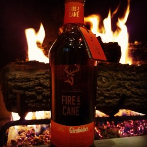 The Whiskley Noob review glenfiddich fire and cane
