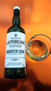 The Whiskey Noob review Laphroaig Quarter Cask