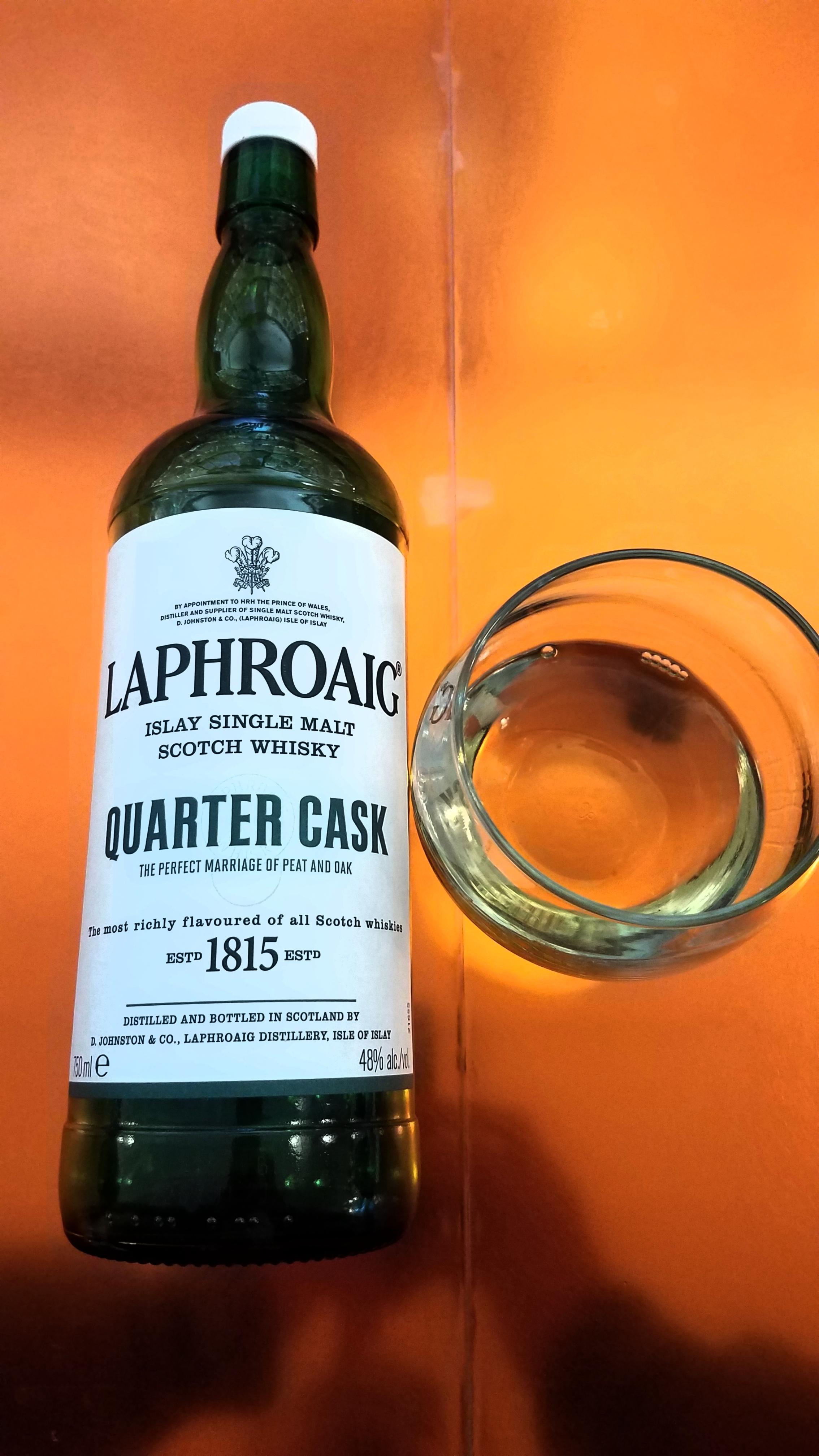 Laphroaig Quarter Cask: JAWS Rating 6.3/10