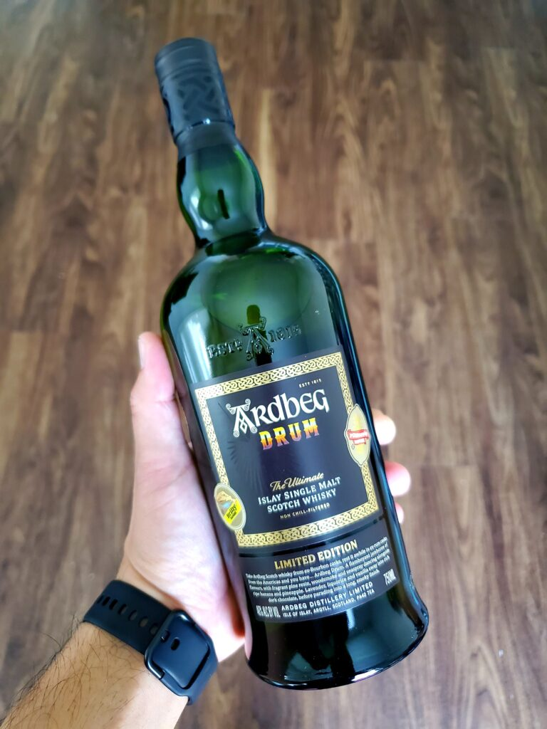 The Whiskey Noob review Ardbeg Drum